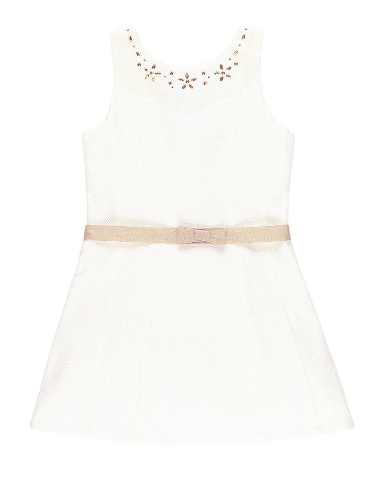Boboli Boboli Dress fantasy for girl white 729536
