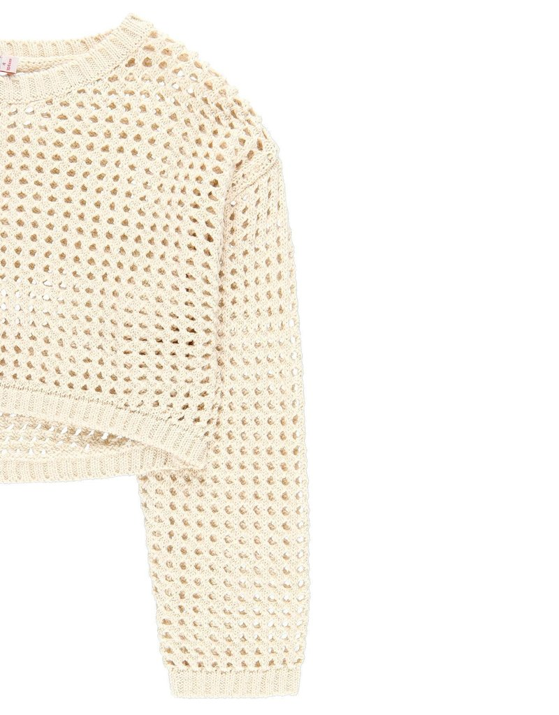 Boboli Boboli Knitwear pullover for girl SAND 729659