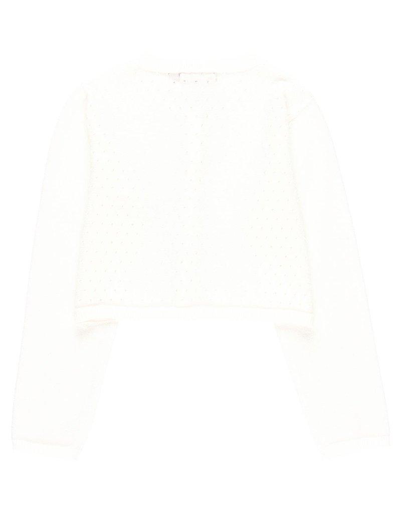 Boboli Boboli Knitwear jacket for girl white 729705