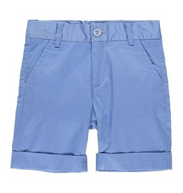 Boboli Boboli Satin bermuda shorts stretch for boy overseas blue 739098