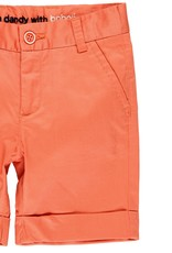 Boboli Boboli Satin bermuda shorts stretch for boy paprika 739098
