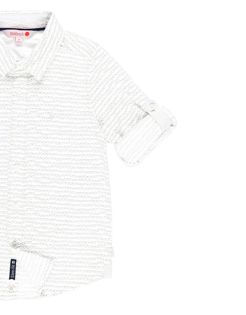 Boboli Boboli Poplin shirt for boy print 739133