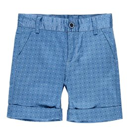 Boboli Boboli Satin bermuda shorts stretch for boy print 739245