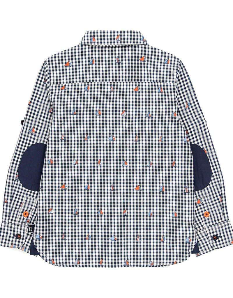 Boboli Boboli Poplin shirt for boy print 739267