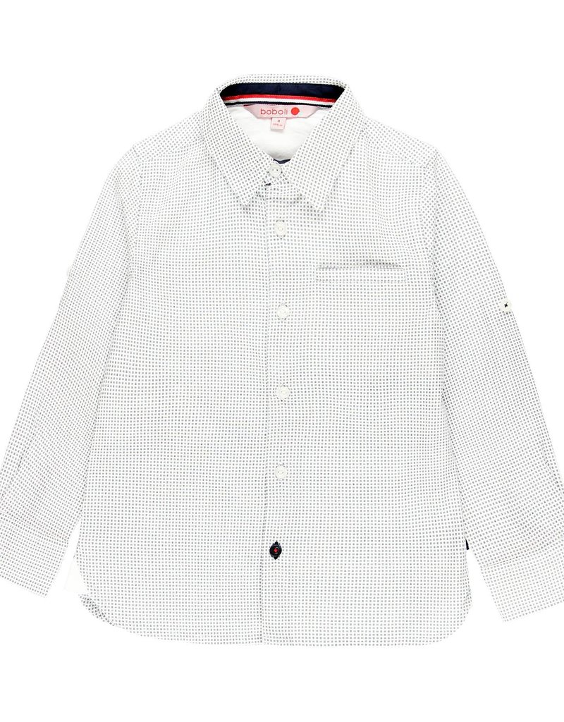 Boboli Boboli Poplin shirt for boy print 739346