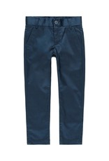 Boboli Boboli Stretch satin trousers for boy NAVY 739447