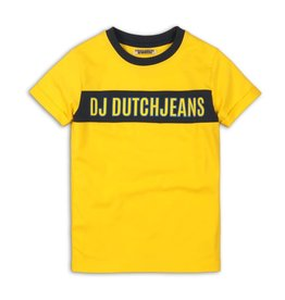 DJ DJ T-shirt Yellow - 45C-34132