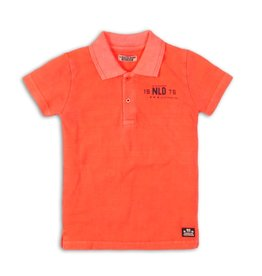 DJ DJ Polo shirt Bright coral - 45C-34150