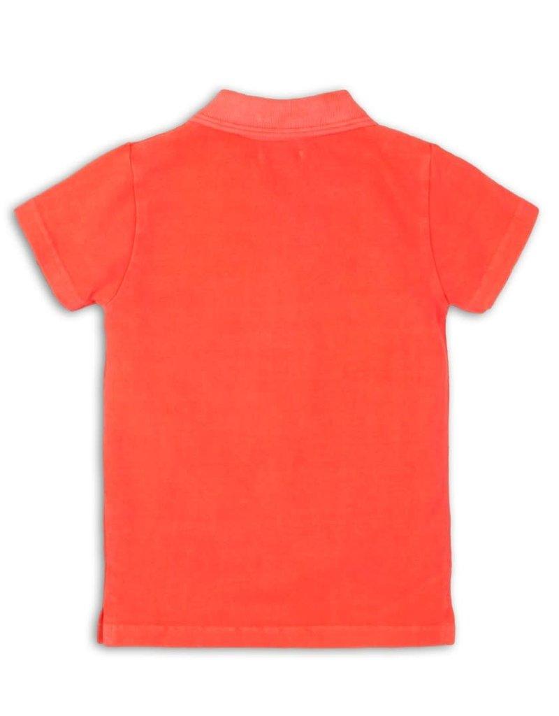 DJ DJ Polo shirt Bright coral - 45C-34150
