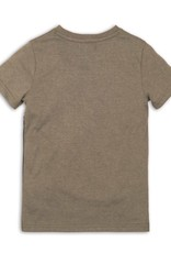DJ DJ T-shirt Faded army green + mint + navy - 45C-34163