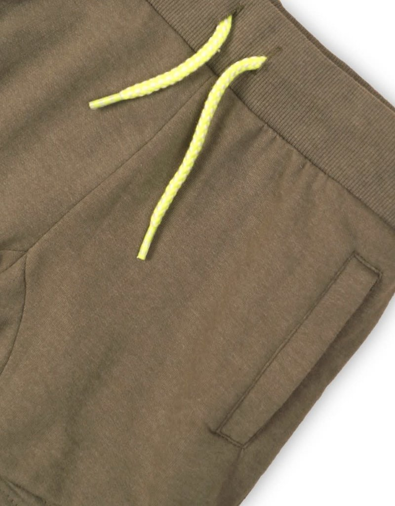 DJ DJ Jogging shorts Faded army green melee - 45C-34170