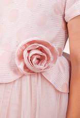 Abel & Lula Abel& Lula jurk roze met tuille wijde rok