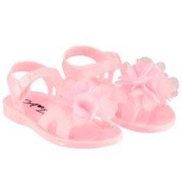 A'Dee A Dee Sandals roze met bloem