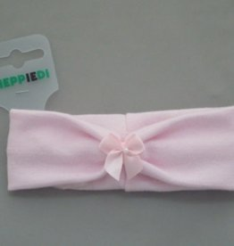 Heppiedi Heppidi Haarband baby roze met strikje