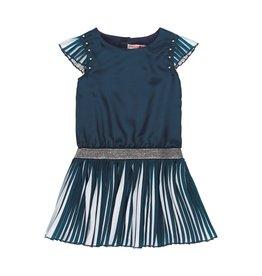Boboli Boboli Chiffon dress for girl NAVY 729132