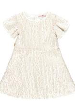 Boboli Boboli Tulle dress for girl SAND 729637