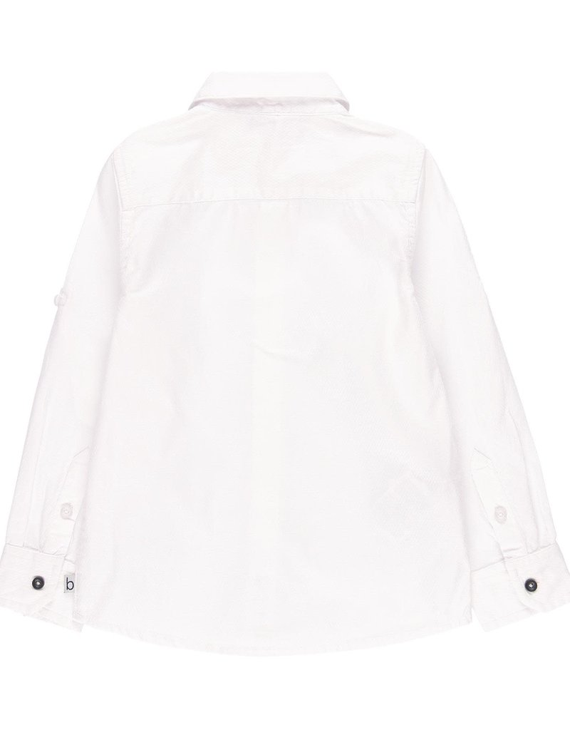 Boboli Boboli Long sleeves shirt for boy WHITE 739032