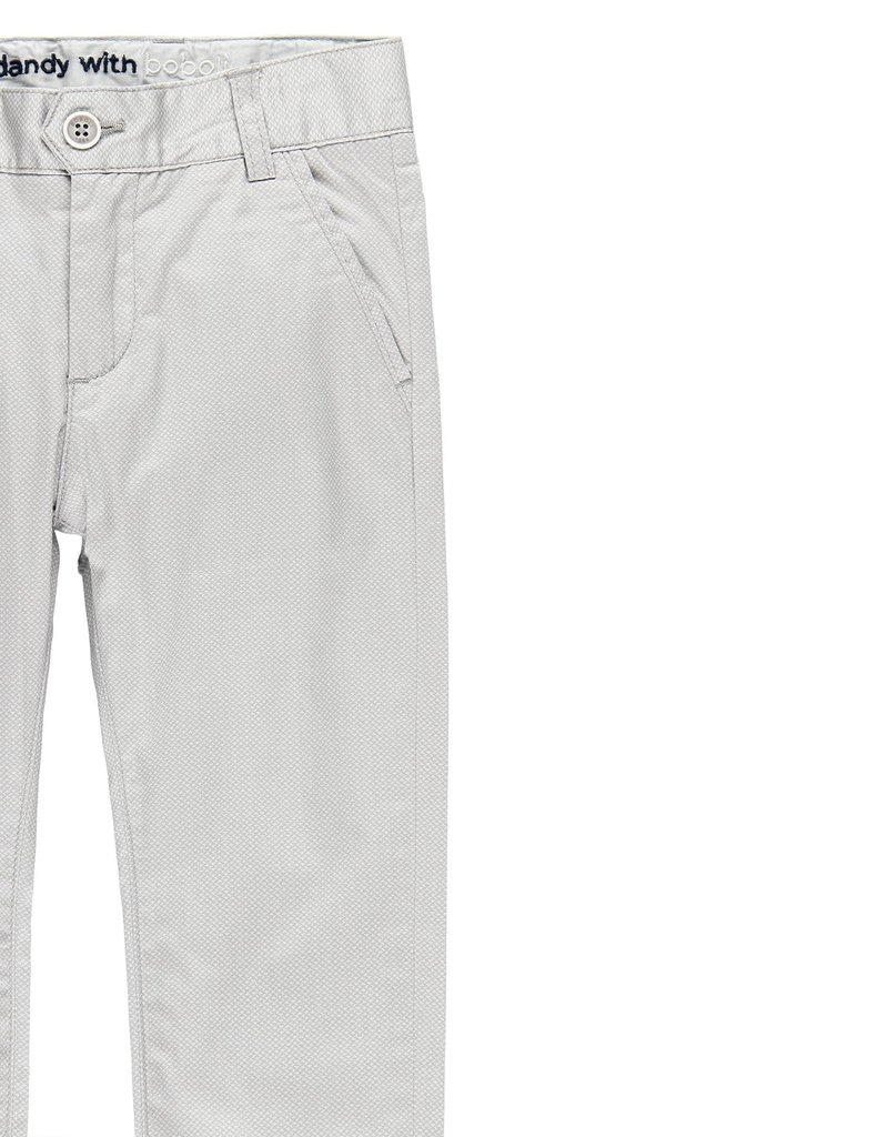 Boboli Boboli Stretch satin trousers for boy print 739065
