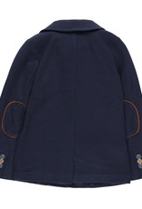 Boboli Boboli Knit blazer fantasy for boy NAVY 739122