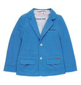 Boboli Boboli Knit blazer fantasy for boy overseas blue 739122