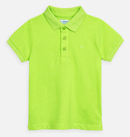 Mayoral Mayoral Basic s/s polo Neon acid - 00150