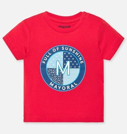 Mayoral Mayoral M t-shirt s/s Hibiscus - 01041