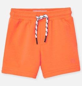 Mayoral Mayoral Basic fleece shorts Neon mango - 00621