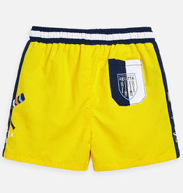 Mayoral Mayoral Swim shorts w/ Regatta Canary - 03628