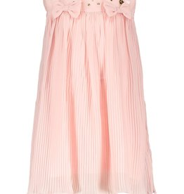 Le Chic Le Chic dress pleats and voile bows C001-7825 Pretty in Pink