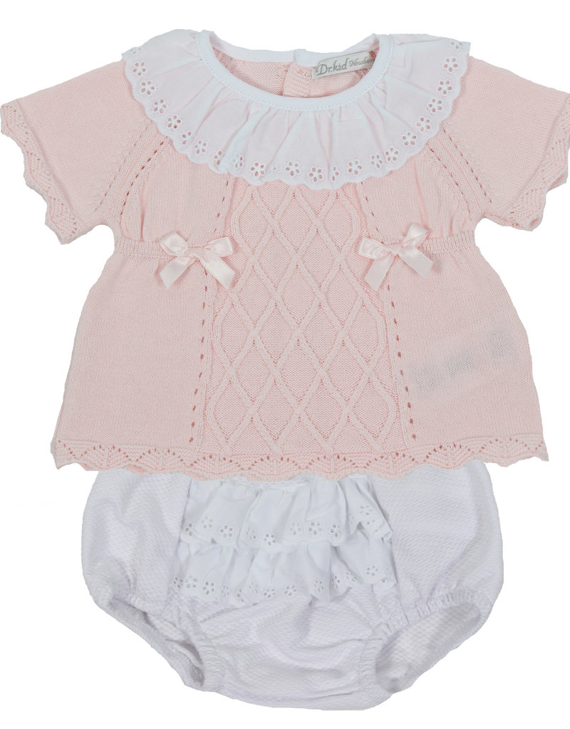 Dr Kid Dr Kids Conjunt (Newborn) 252-Rosa Bebé-DK123