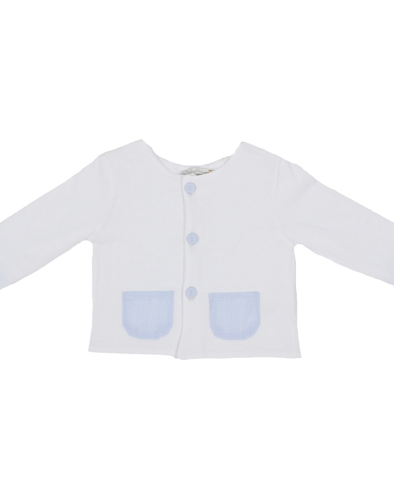 Dr Kid Dr Kids Cardigan (Newborn) 000-Branco-DK245