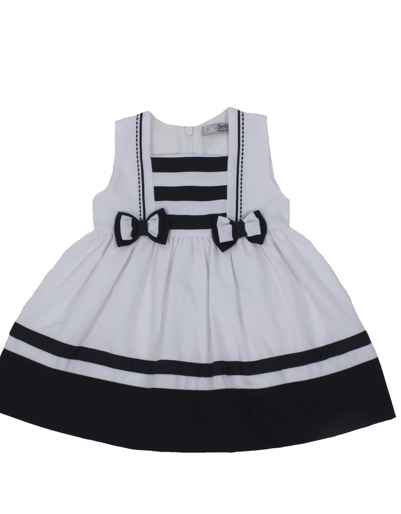Dr Kid Dr Kids Baby Girl Dress 280-Marinho-DK326