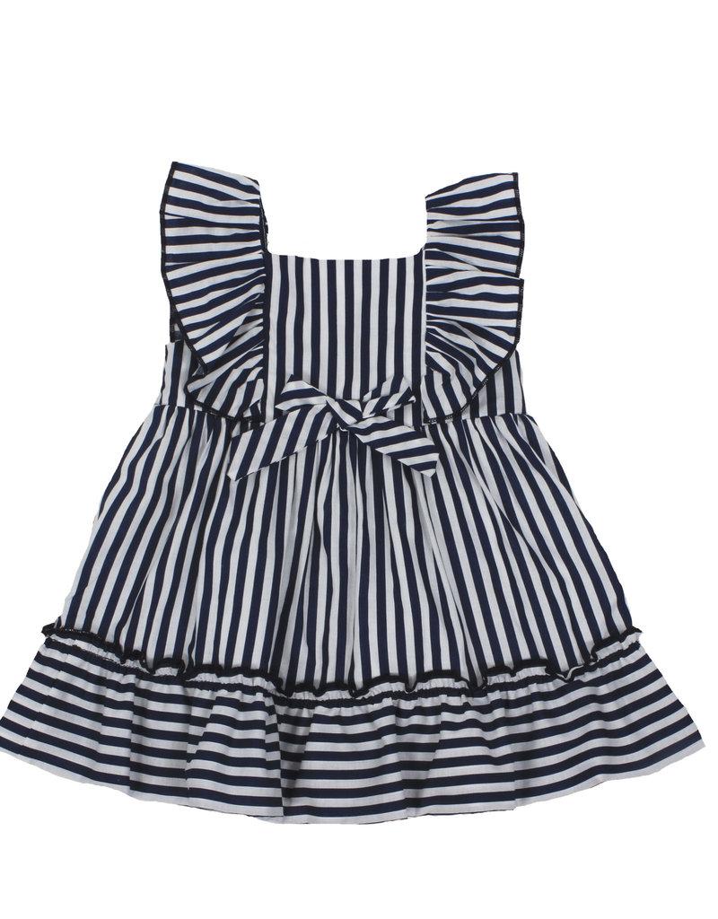 Dr Kid Dr Kids Baby Girl Dress 280-Marinho-DK328