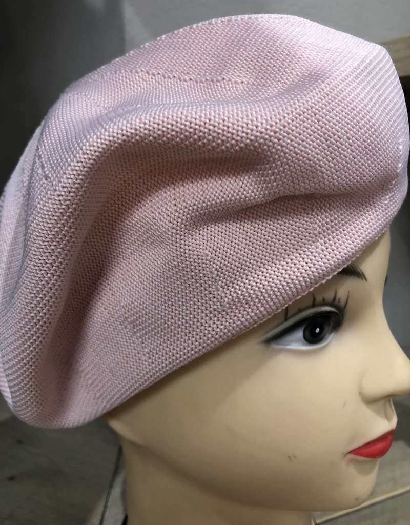 Baret linnen licht roze