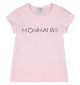 Monnalisa Monnalisa T-SHIRT BASIC MONNALISA 5 Rosa