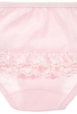 Babidu Babidu Broekje roze met kant