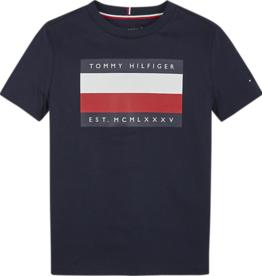 Tommy Hilfiger Tommy Hilfiger Shirt donkerblauw met opdruk