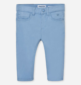 Mayoral Mayoral Basic slim fit serge pants Lavender - 00506