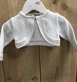 Dr Kid Dr Kids Baby Girl Short Cardigan 454-Prateado-DK358
