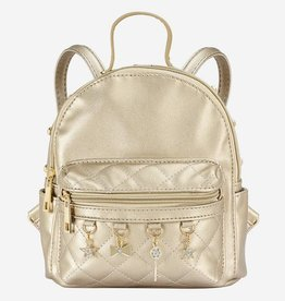 Mayoral Backpack with straps for girl gold