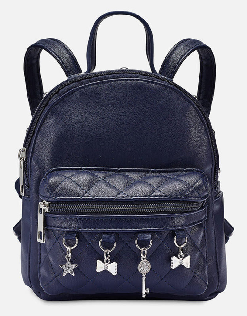 Mayoral Backpack with straps for girl dark blue