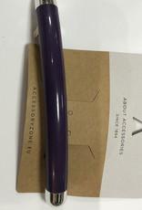 Haarknip groot paars