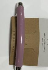 Haarknip groot roze