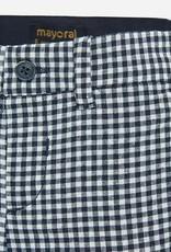 Mayoral Mayoral Formal linen bermuda shorts for baby boy