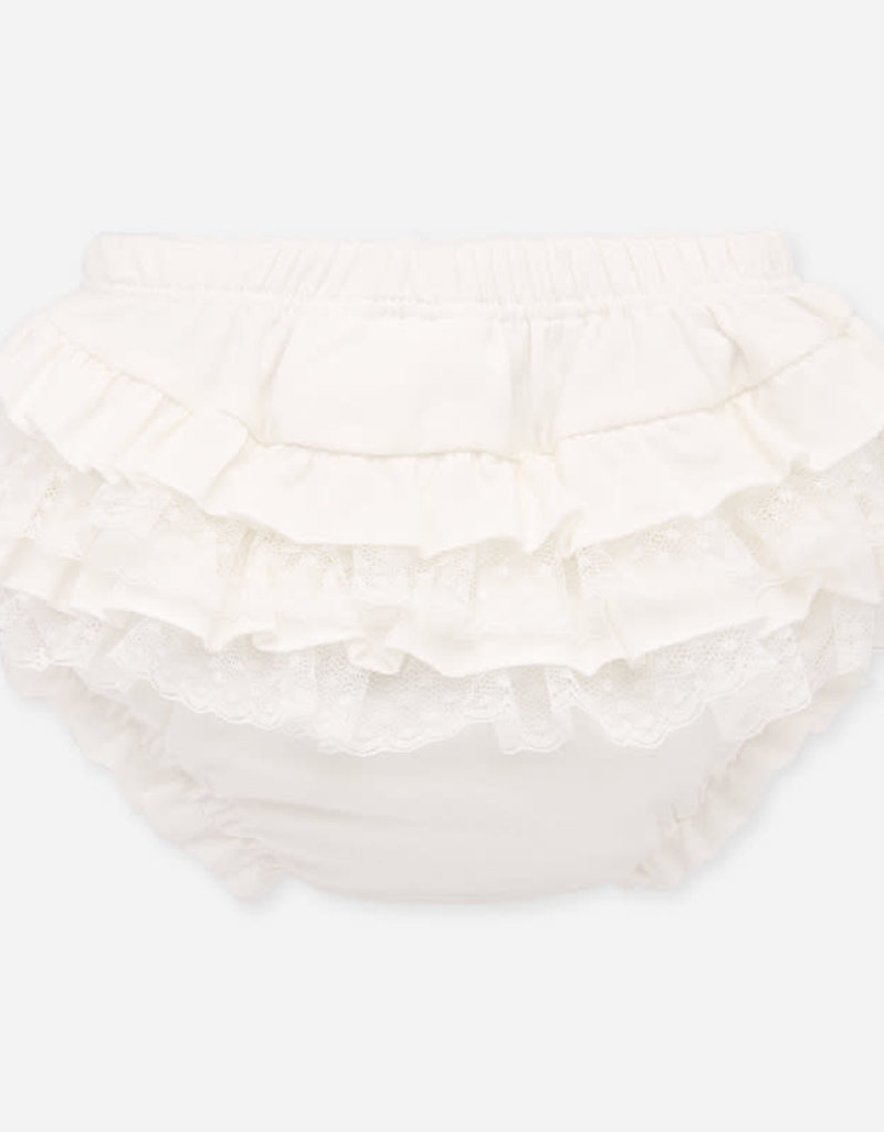 Mayoral Mayoral Elasticated knickers off white for newborn girl