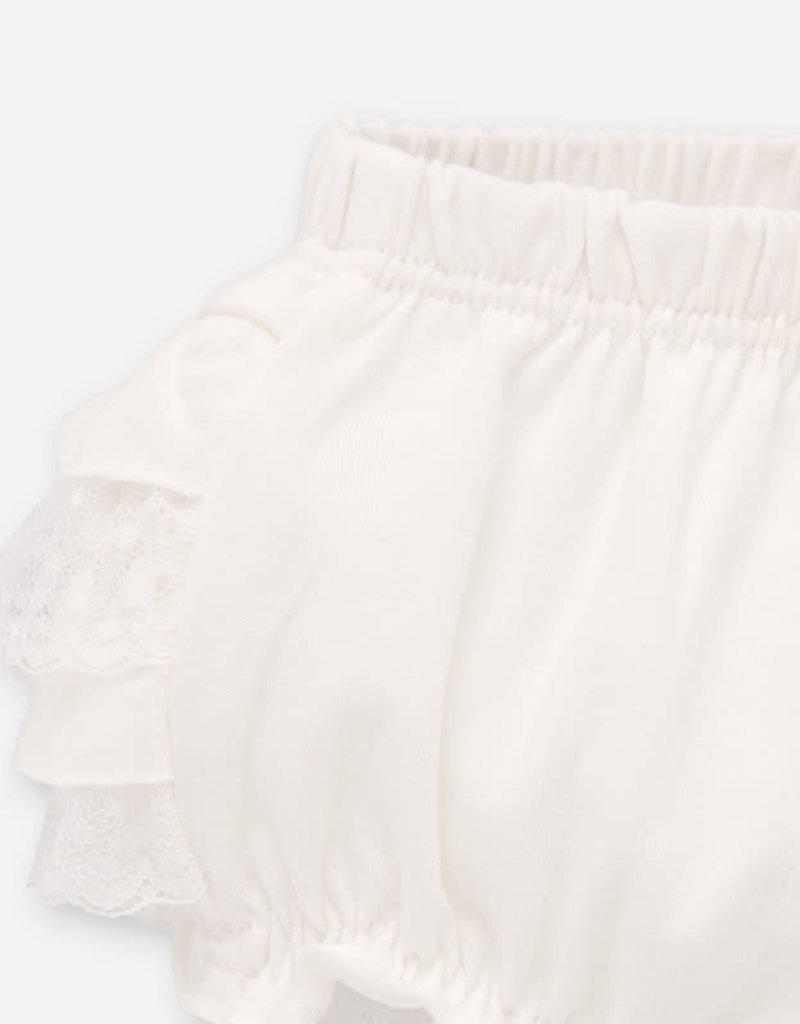 Mayoral Mayoral Elasticated knickers blanco for newborn girl