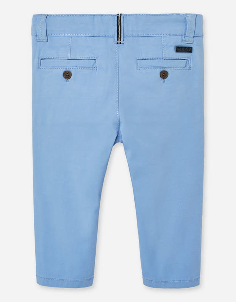 Mayoral MayoralSlim fit chino trousers for baby boy  Lavender