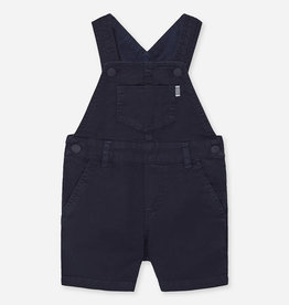 Mayoral Mayoral Patterned short dungarees for baby boy