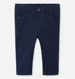Mayoral Mayoral Formal trousers blue for newborn boy off white