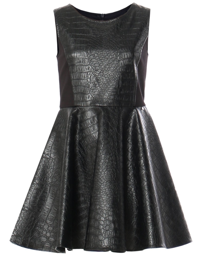 Kocca Kocca DRESS BLACKGUSTAVA 00016